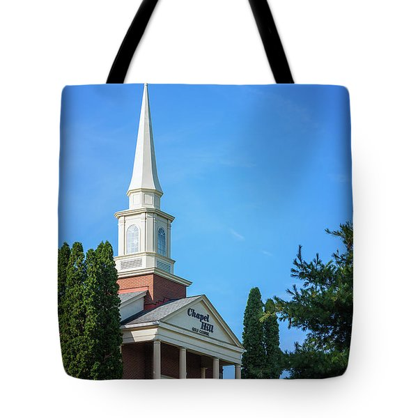 Chapel Hill Golf Course Clubhouse Tote Bag