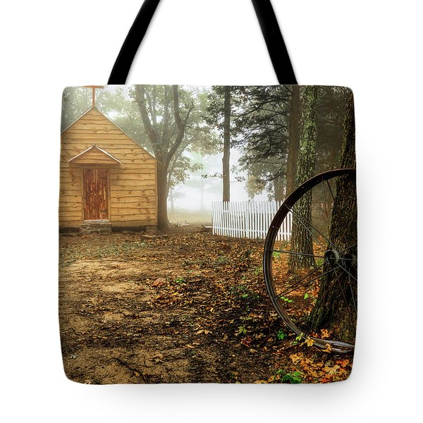 Chapel In The Woods 1 Tote Bag