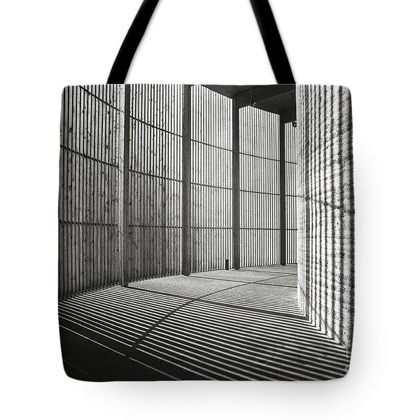 Tote Bag featuring the photograph Chapel Of Reconciliation  by Silva Wischeropp