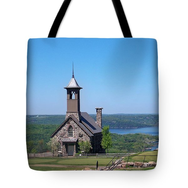 Chapel Of The Ozarks Tote Bag