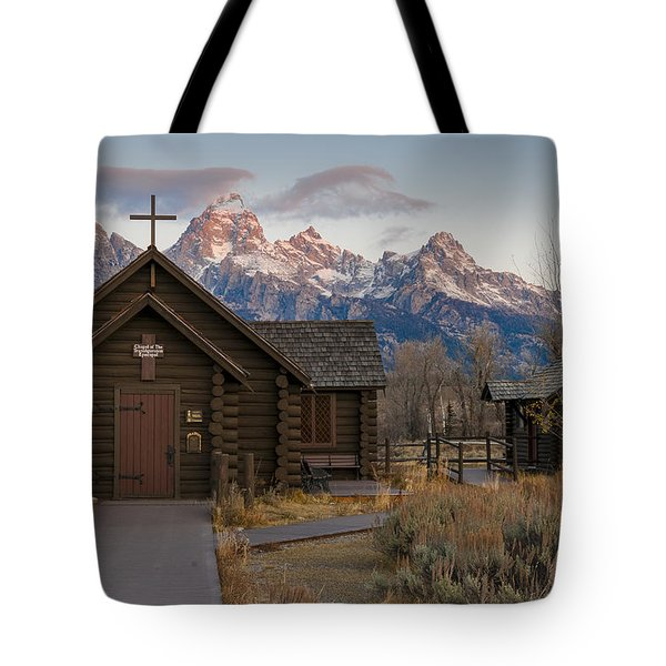Chapel Of The Transfiguration - II Tote Bag