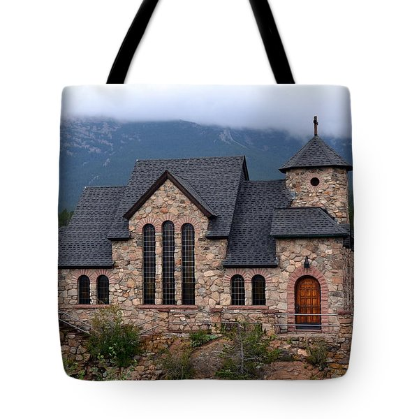 Tote Bag featuring the photograph Chapel On The Rocks 2017 by Dorrene BrownButterfield