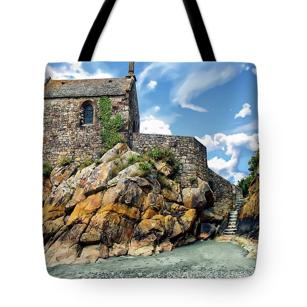 Chapel Saint-aubert Tote Bag