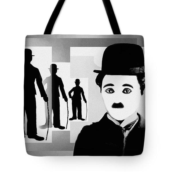 Chaplin, Charlie Chaplin Tote Bag