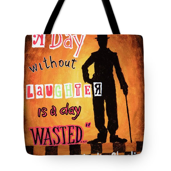 Chaplin Tote Bag by Igor Postash