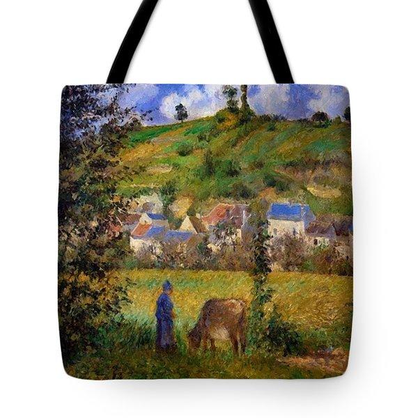 Chaponval Landscape Tote Bag