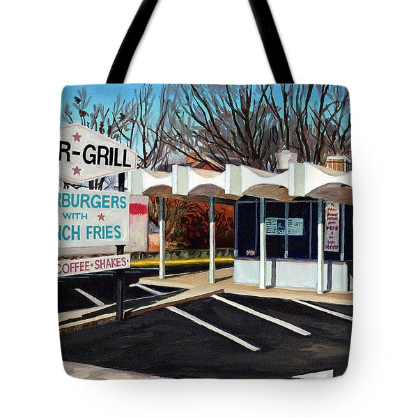 Char Grill Hillsborough St Tote Bag