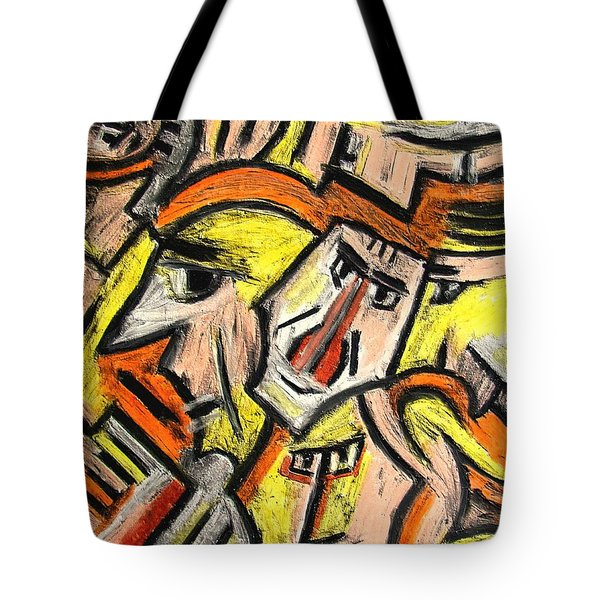 Characters By Rafi Talby Tote Bag by Rafi Talby