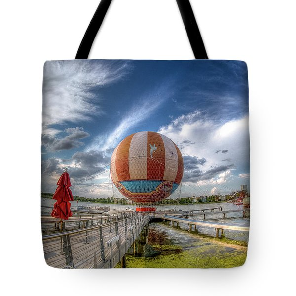 Characters In Flight Tote Bag