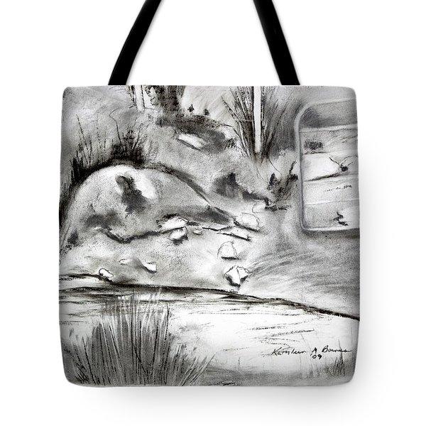 Pat's Field Tote Bag
