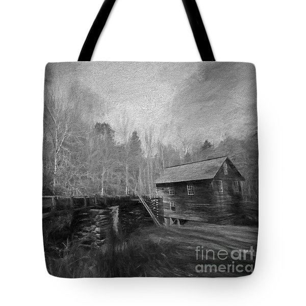 Charcoal Mill Tote Bag