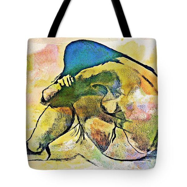 Charcoal Model #4 Tote Bag
