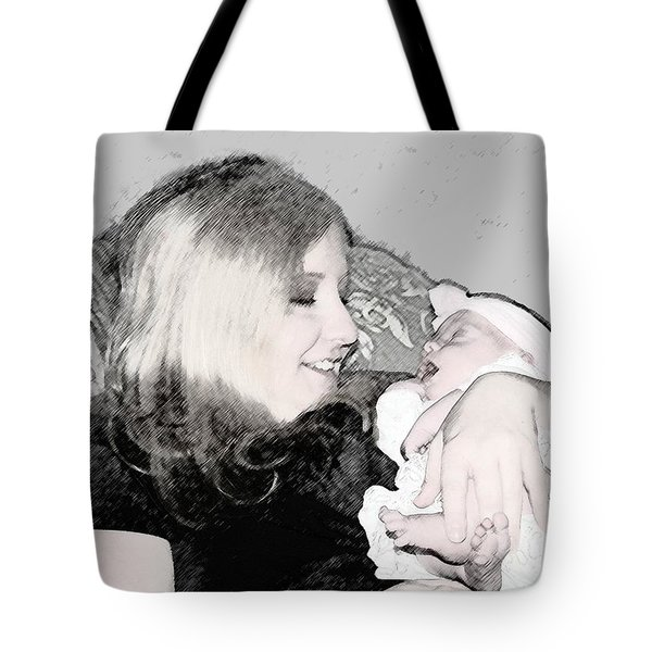 Charcoal Moment Tote Bag