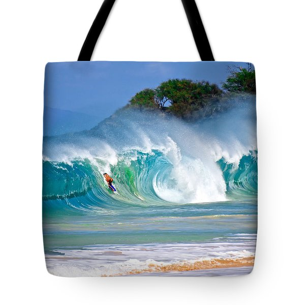 Charge Large Tote Bag