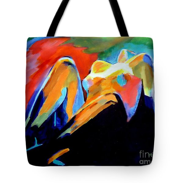 Charge Of The Soul Tote Bag