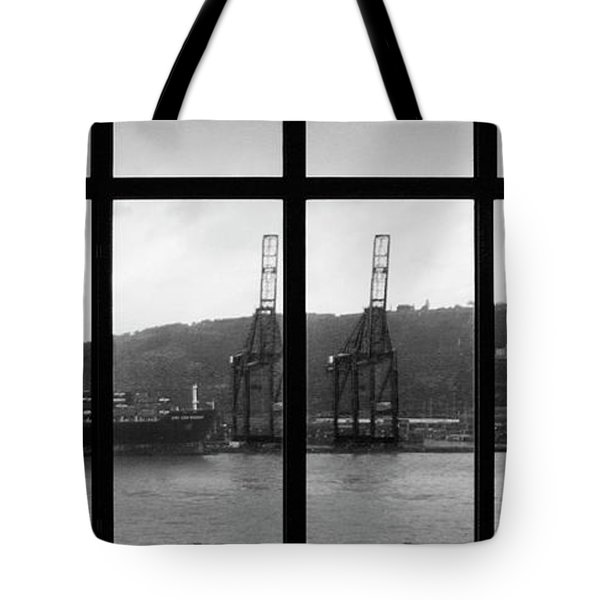 Charging Dock Of Barcelona Tote Bag