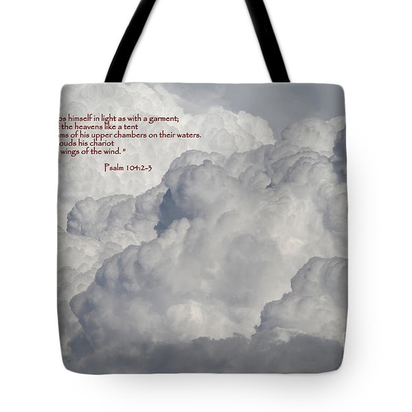 Chariot Clouds Tote Bag