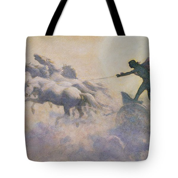 Chariot Of The Sun Tote Bag