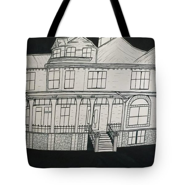 Charles A. Spies Historical Menominee Home. Tote Bag