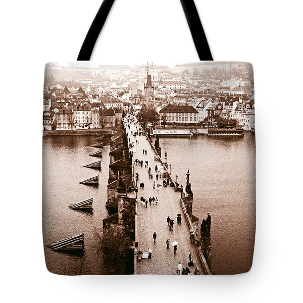 Charles Bridge II Tote Bag