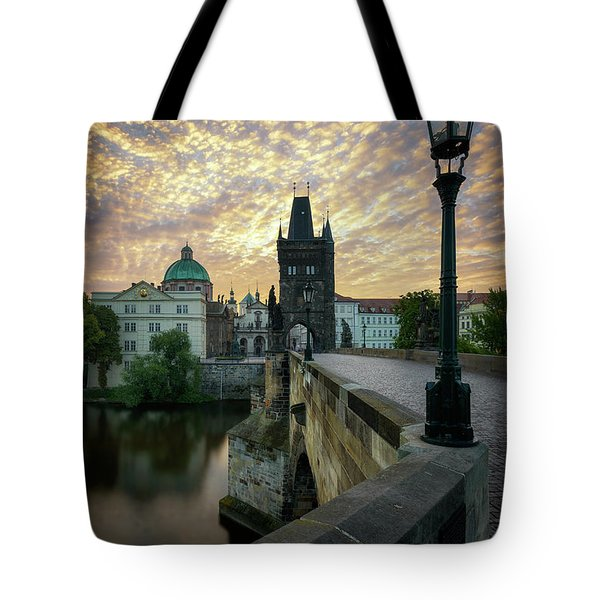 Charles Bridge, Prague, Czech Republic Tote Bag