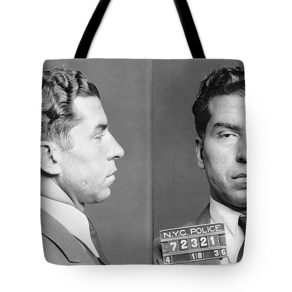 Charles Lucky Luciano Tote Bag