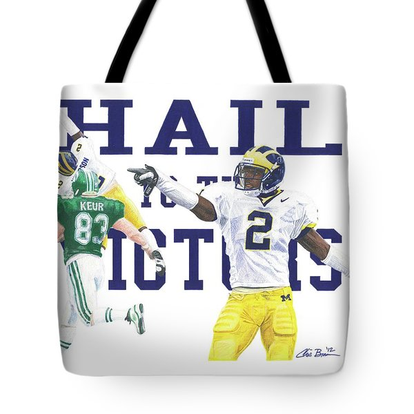 Charles Woodson - The Pick Tote Bag
