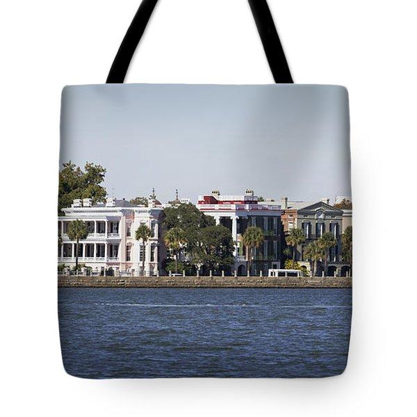 Charleston Battery Row Panorama 2 Tote Bag