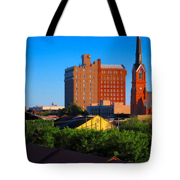 Charleston Buildings Tote Bag