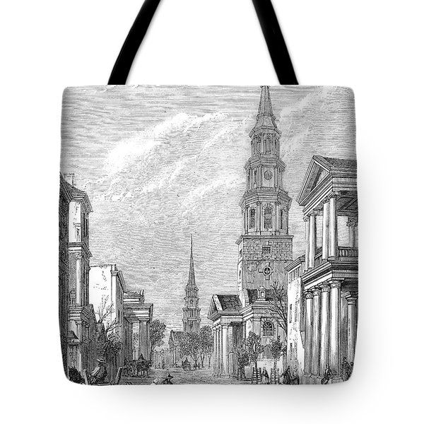 Charleston: Church, 1861 Tote Bag by Granger