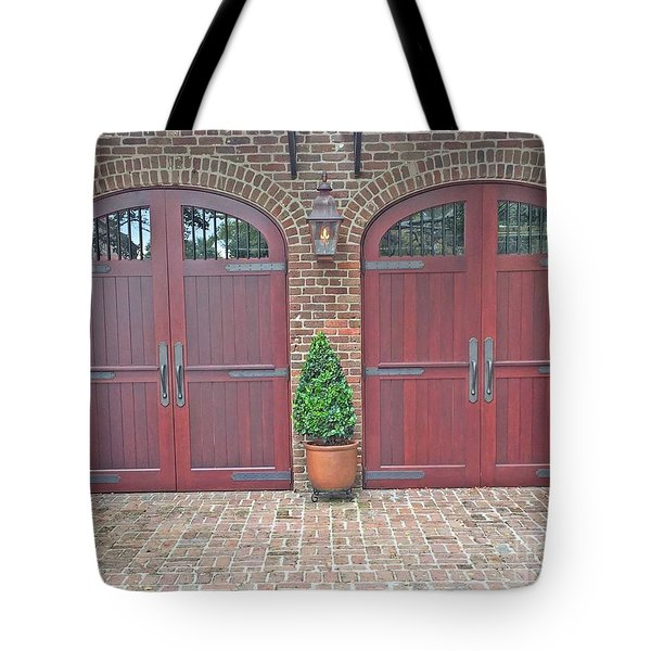 Charleston Doors Tote Bag