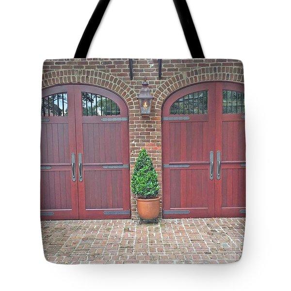 Charleston Doors Tote Bag