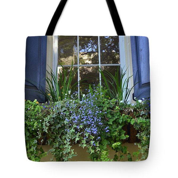 Charleston Flower Box 3 Tote Bag
