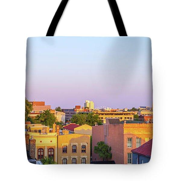Charleston Glows Tote Bag