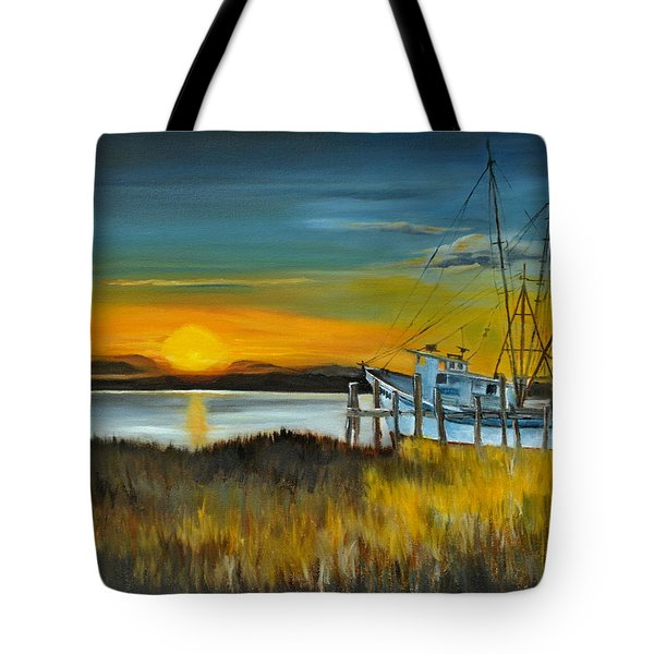 Charleston Low Country Tote Bag by Lindsay Frost