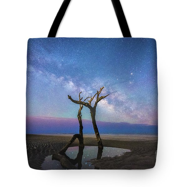 Charleston Milkyway  Tote Bag by Robert Loe