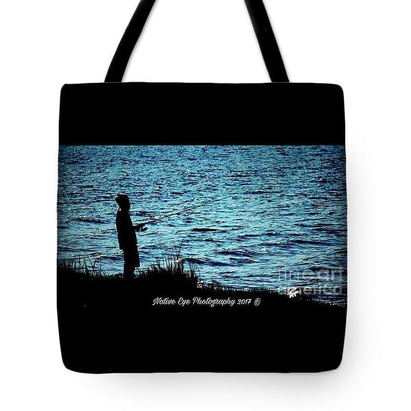 Charleston Morning Fishing Tote Bag