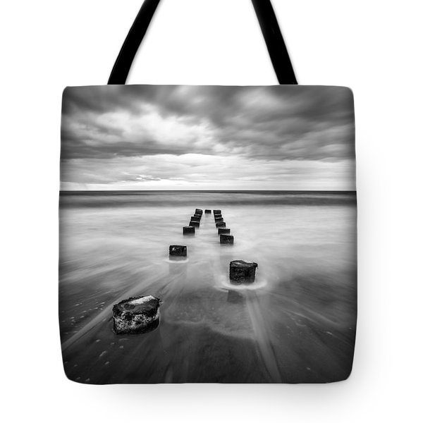 Charleston Sc Folly Beach Seascape Photography Tote Bag