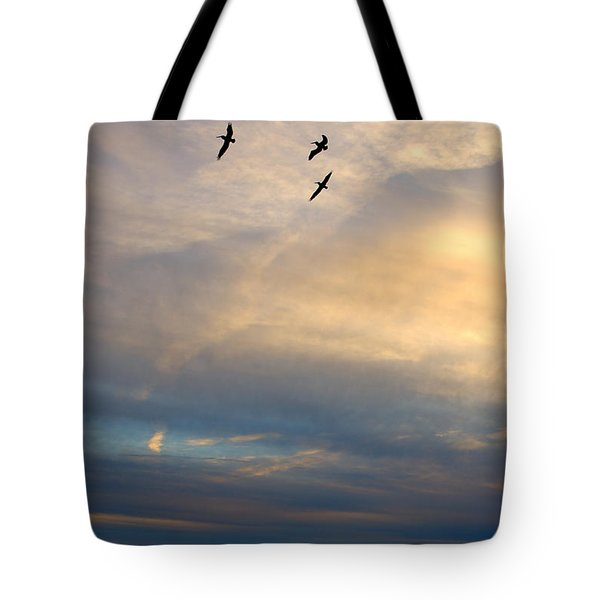 Charleston Seascape Tote Bag