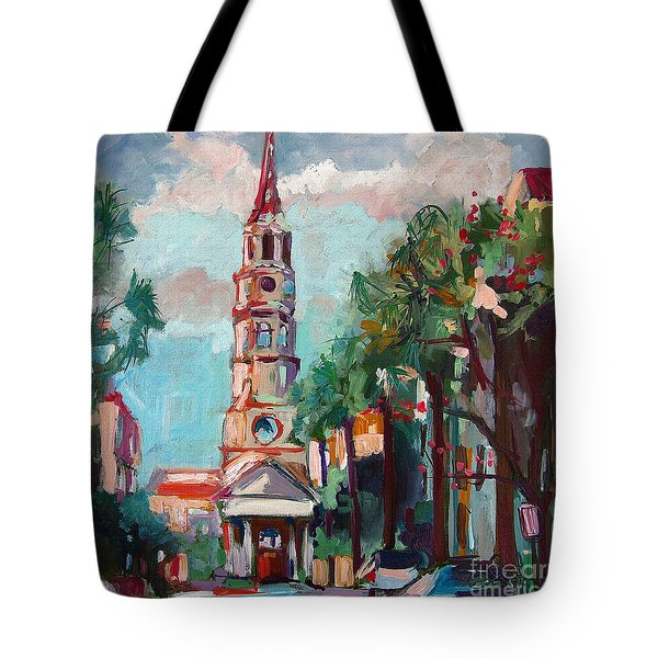 Charleston St Phillips Church Tote Bag