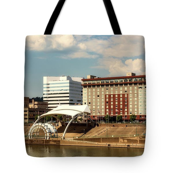 Charleston West Virginia Tote Bag by L O C