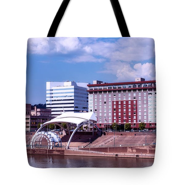 Charleston West Virginina Tote Bag by L O C