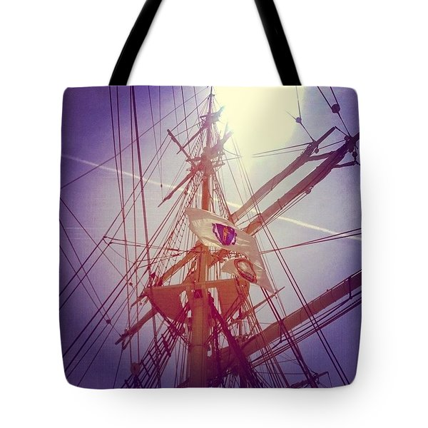 A Voyage Home Tote Bag