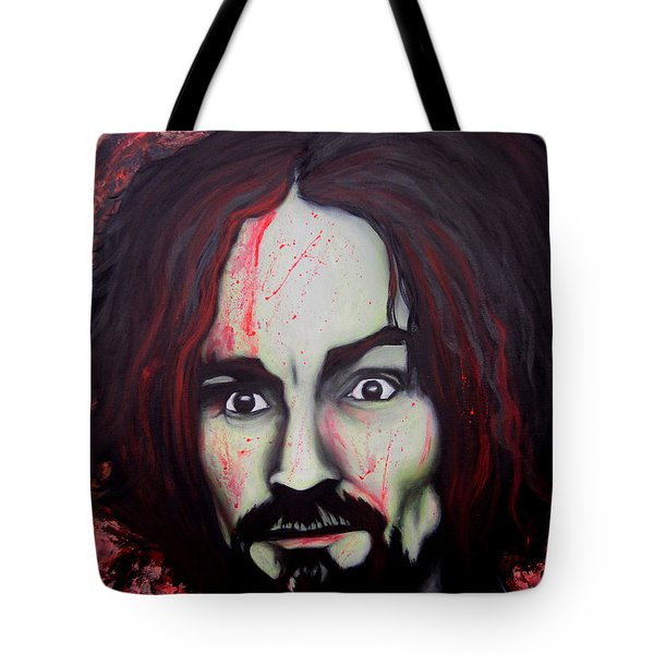 Charlie Manson Tote Bag