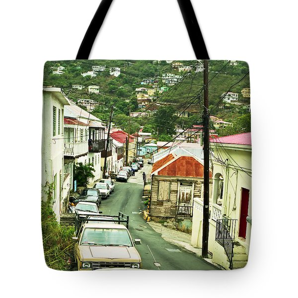 Charlotte Amalie Neighborhood Tote Bag