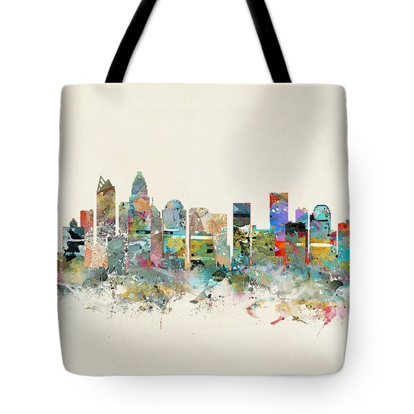 Charlotte City Tote Bag