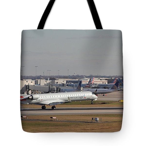 Tote Bag featuring the photograph Charlotte Douglas International Airport 20 by Joseph C Hinson Photography