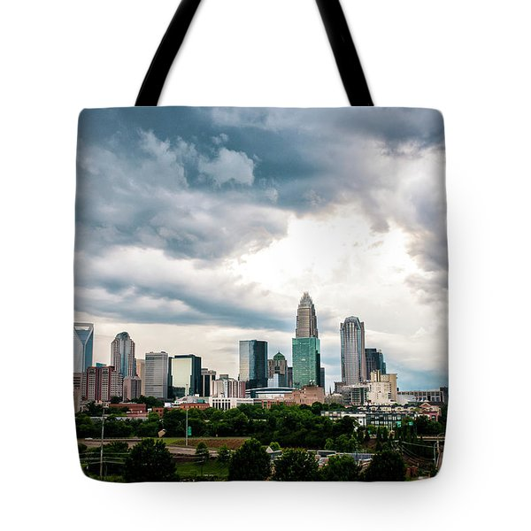 Charlotte In The Clouds Tote Bag