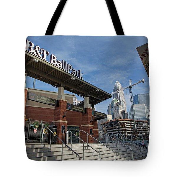 Charlotte Knights Ballpark Tote Bag