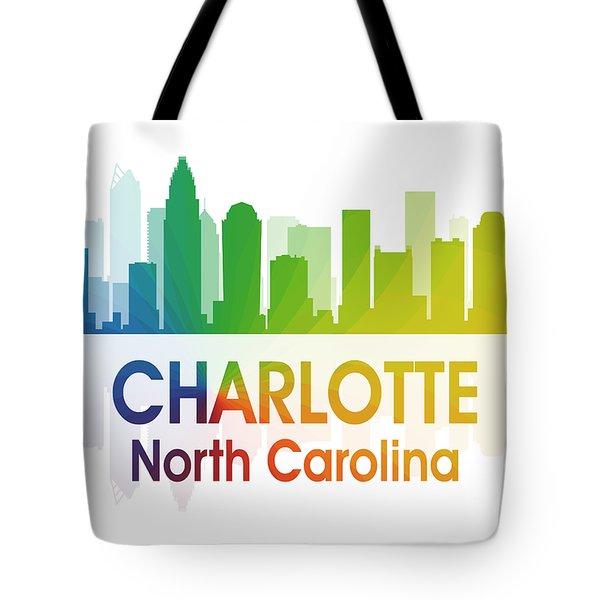 Charlotte Nc Tote Bag by Angelina Vick